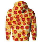 Pizza Invasion Hoodie-Subliminator-| All-Over-Print Everywhere - Designed to Make You Smile