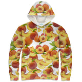 Suave Peaches Hoodie-Shelfies-| All-Over-Print Everywhere - Designed to Make You Smile