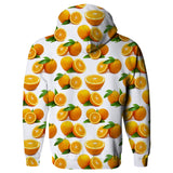 Suave Oranges Hoodie-Shelfies-| All-Over-Print Everywhere - Designed to Make You Smile