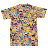 Emoji Invasion T-Shirt-Subliminator-| All-Over-Print Everywhere - Designed to Make You Smile