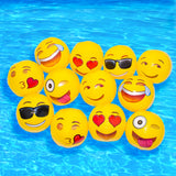 Emoji Beach Balls 12-Pack-Shelfies-12-Pack-| All-Over-Print Everywhere - Designed to Make You Smile