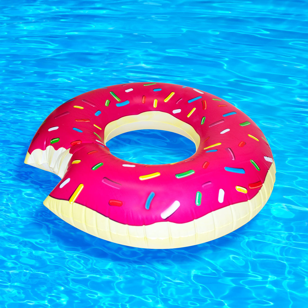 Giant Inflatable Pink Donut Shelfies