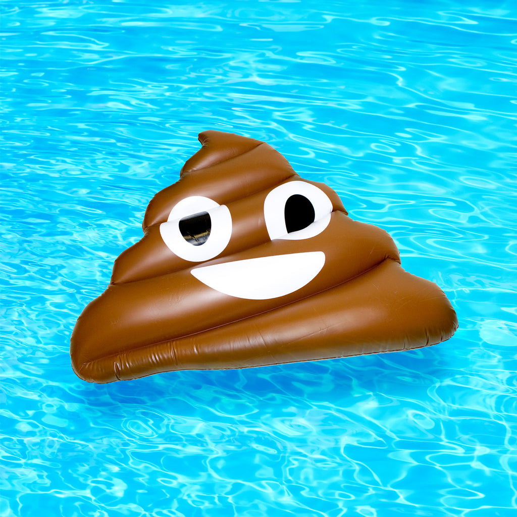 Giant Inflatable Poo Emoji-Shelfies-| All-Over-Print Everywhere - Designed to Make You Smile