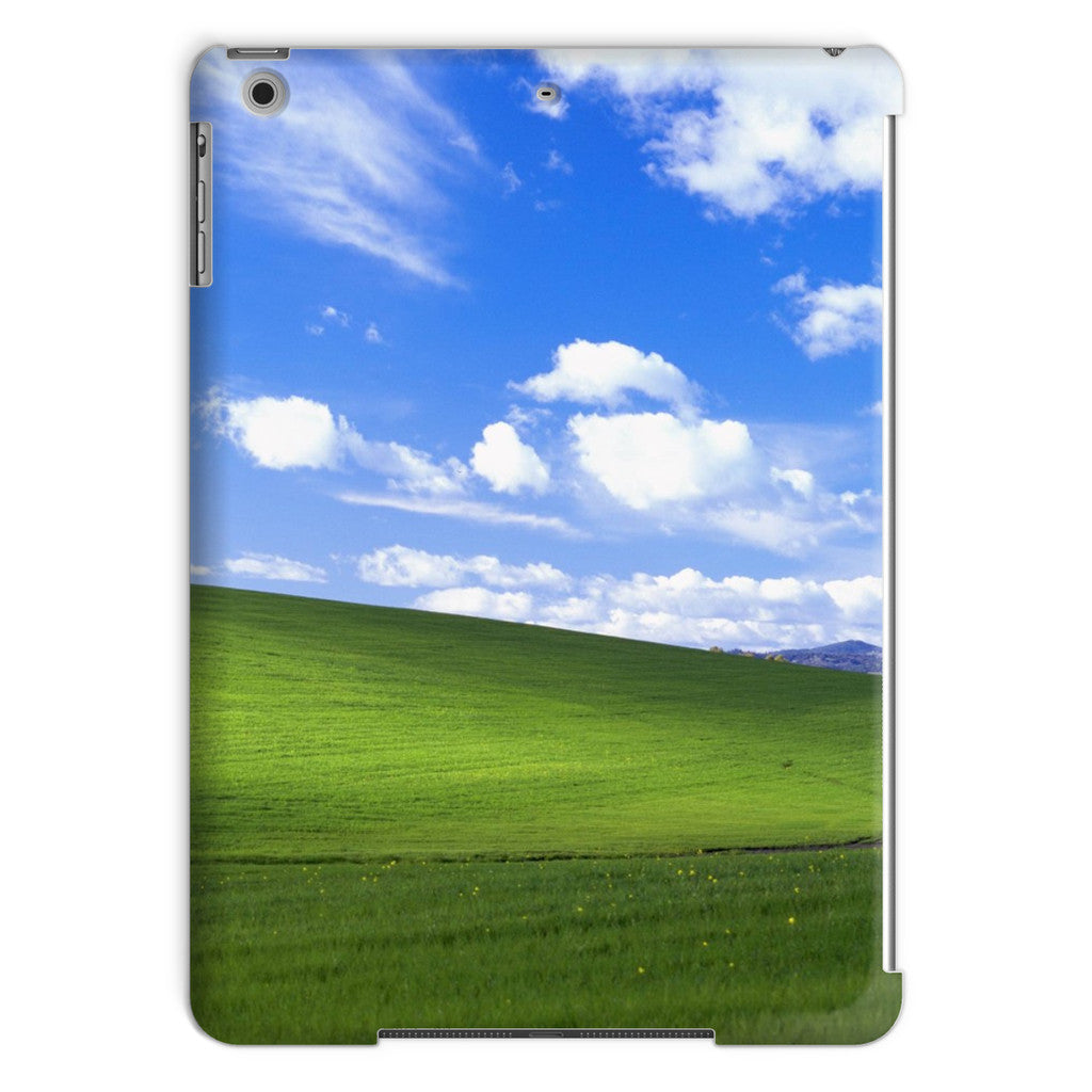 Bliss Screensaver iPad Case-kite.ly-iPad Air-| All-Over-Print Everywhere - Designed to Make You Smile