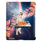 DJ Pizza Cat iPad Case-kite.ly-iPad 2,3,4 Case-| All-Over-Print Everywhere - Designed to Make You Smile