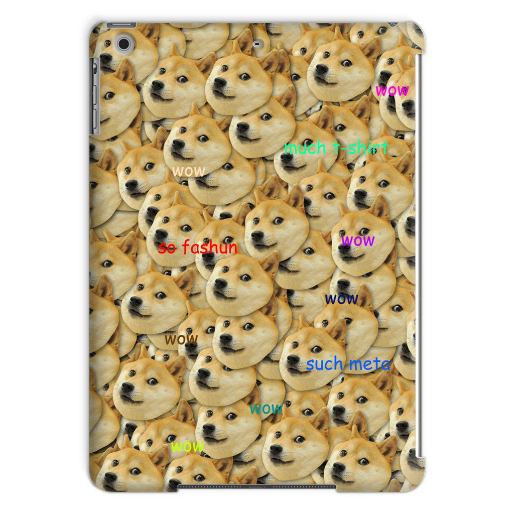 "Doge ""Much Fashun"" iPad Case-kite.ly-iPad Air-