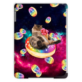 Donut Cat-Astrophy iPad Case-kite.ly-iPad Air-| All-Over-Print Everywhere - Designed to Make You Smile