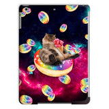Donut Cat-Astrophy iPad Case-kite.ly-iPad Air 2-| All-Over-Print Everywhere - Designed to Make You Smile