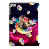Donut Cat-Astrophy iPad Case-kite.ly-iPad Mini 2,3-| All-Over-Print Everywhere - Designed to Make You Smile