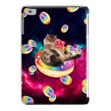 Donut Cat-Astrophy iPad Case-kite.ly-iPad Mini 4-| All-Over-Print Everywhere - Designed to Make You Smile