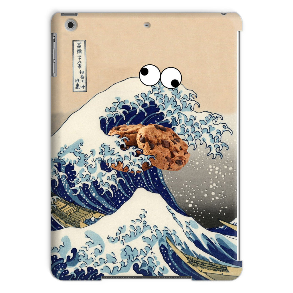 Great Wave of Cookie Monster iPad Case-kite.ly-iPad Air-| All-Over-Print Everywhere - Designed to Make You Smile