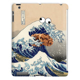 Great Wave of Cookie Monster iPad Case-kite.ly-iPad 2,3,4 Case-| All-Over-Print Everywhere - Designed to Make You Smile