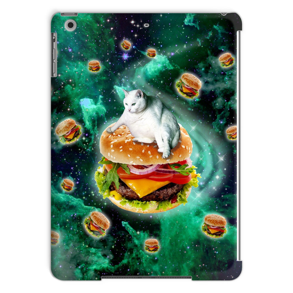 Hamburger Cat iPad Case-kite.ly-iPad Air-| All-Over-Print Everywhere - Designed to Make You Smile
