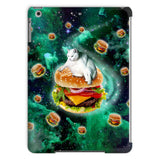 Hamburger Cat iPad Case-kite.ly-iPad Air 2-| All-Over-Print Everywhere - Designed to Make You Smile