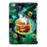 Hamburger Cat iPad Case-kite.ly-iPad Mini 4-| All-Over-Print Everywhere - Designed to Make You Smile