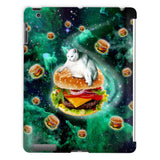 Hamburger Cat iPad Case-kite.ly-iPad 2,3,4 Case-| All-Over-Print Everywhere - Designed to Make You Smile