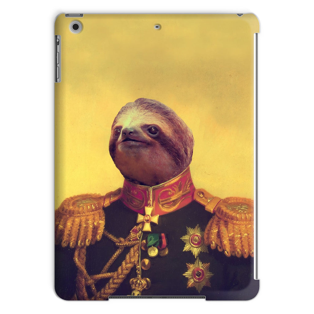 Lil' General Sloth iPad Case-kite.ly-iPad Air-| All-Over-Print Everywhere - Designed to Make You Smile