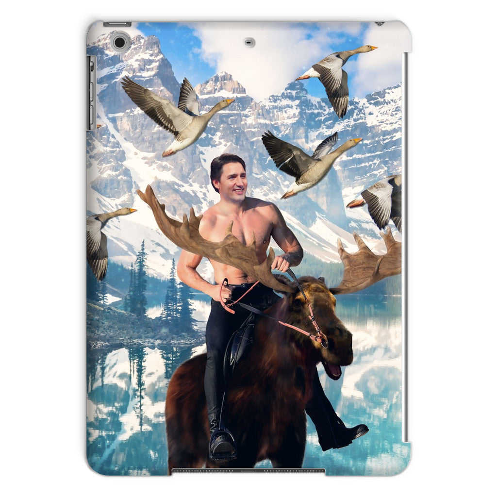 Moosin' Trudeau iPad Case-kite.ly-iPad Air-| All-Over-Print Everywhere - Designed to Make You Smile