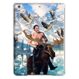 Moosin' Trudeau iPad Case-kite.ly-iPad Air 2-| All-Over-Print Everywhere - Designed to Make You Smile