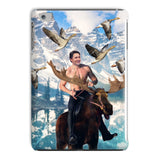 Moosin' Trudeau iPad Case-kite.ly-iPad Mini 2,3-| All-Over-Print Everywhere - Designed to Make You Smile