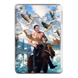Moosin' Trudeau iPad Case-kite.ly-iPad Mini 4-| All-Over-Print Everywhere - Designed to Make You Smile