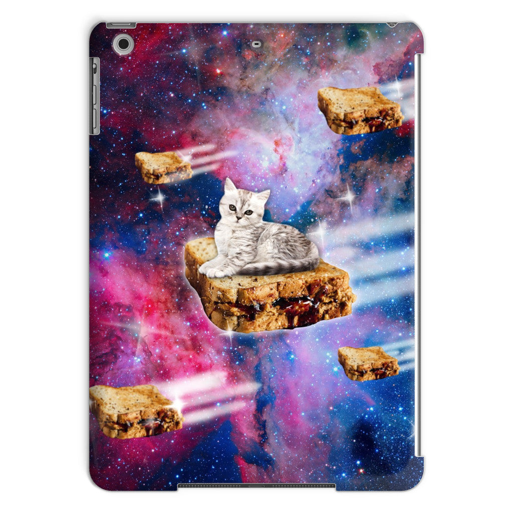 PB&J Galaxy Cat iPad Case-kite.ly-iPad Air-| All-Over-Print Everywhere - Designed to Make You Smile