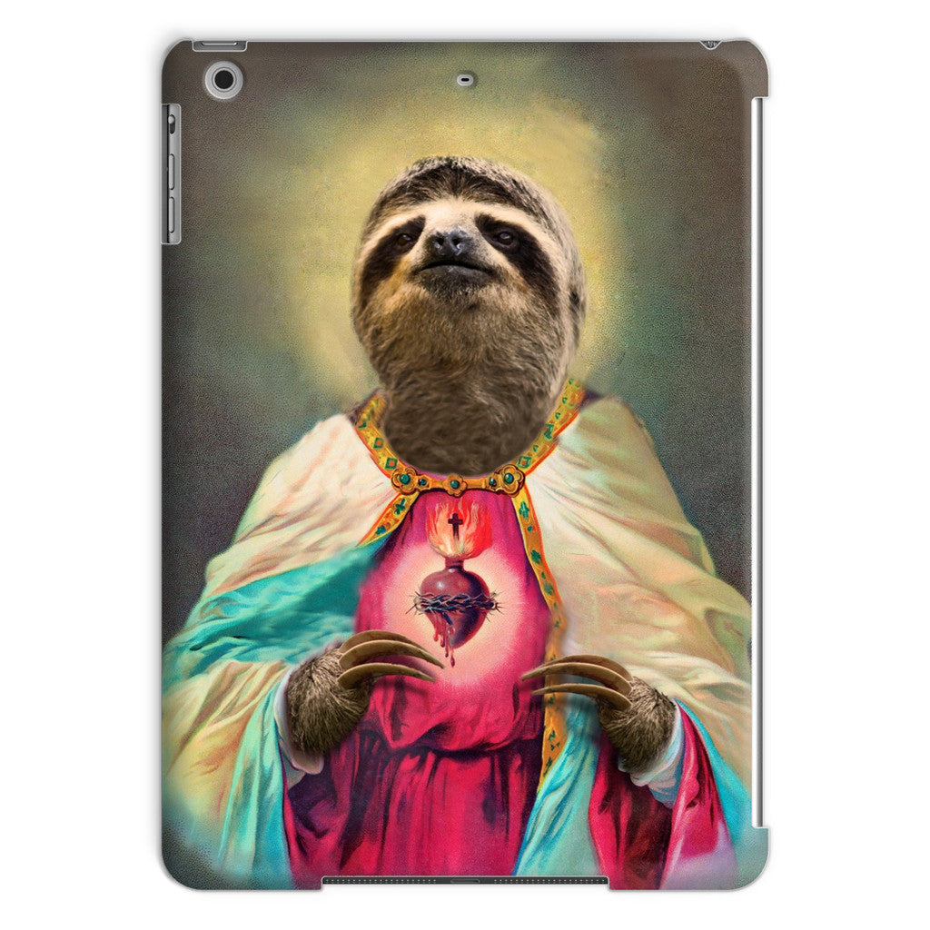 Sloth Jesus iPad Case-kite.ly-iPad Air-| All-Over-Print Everywhere - Designed to Make You Smile
