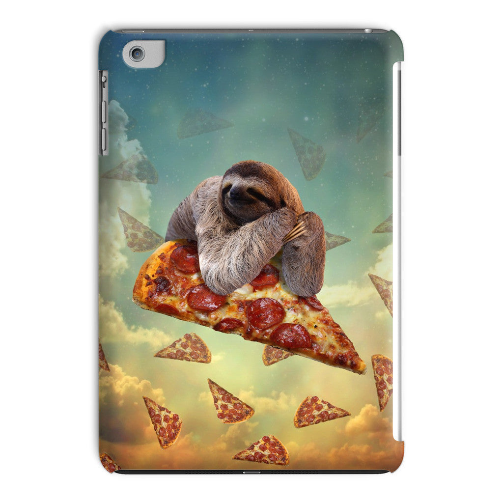 Sloth Pizza iPad Case-kite.ly-iPad Mini 2,3-| All-Over-Print Everywhere - Designed to Make You Smile