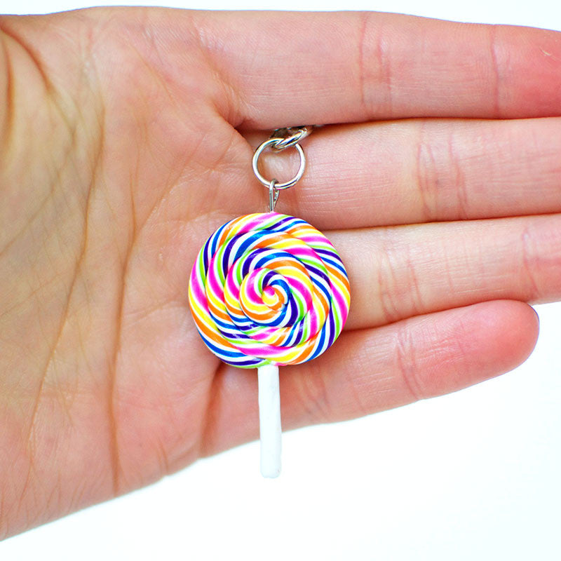Lollipop Swirl Necklace-Shelfies-One Size-| All-Over-Print Everywhere - Designed to Make You Smile