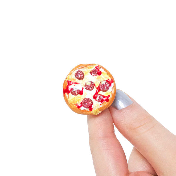 Pizza Party Ring-Shelfies-One Size-| All-Over-Print Everywhere - Designed to Make You Smile
