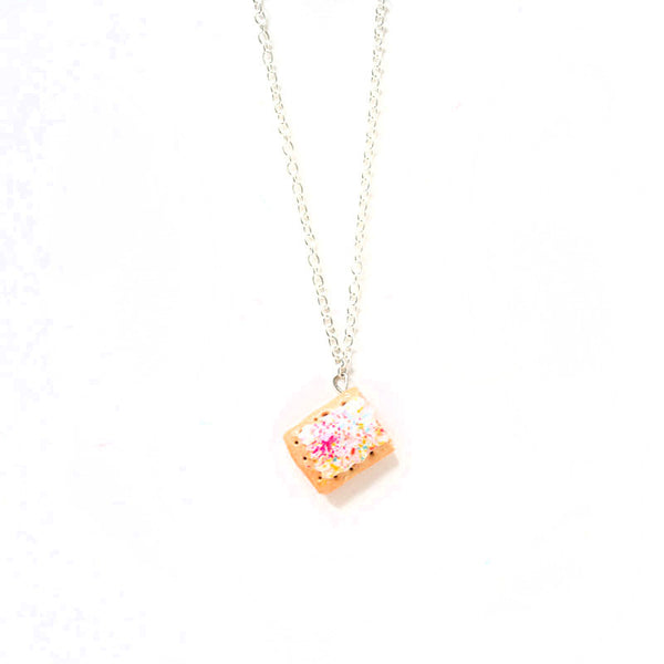 Strawberry Poptart Necklace-Shelfies-| All-Over-Print Everywhere - Designed to Make You Smile