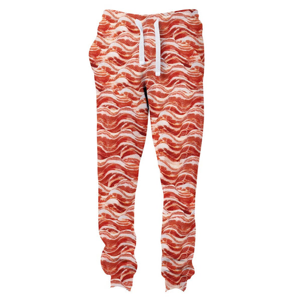 Bacon Invasion Joggers-Shelfies-S-| All-Over-Print Everywhere - Designed to Make You Smile