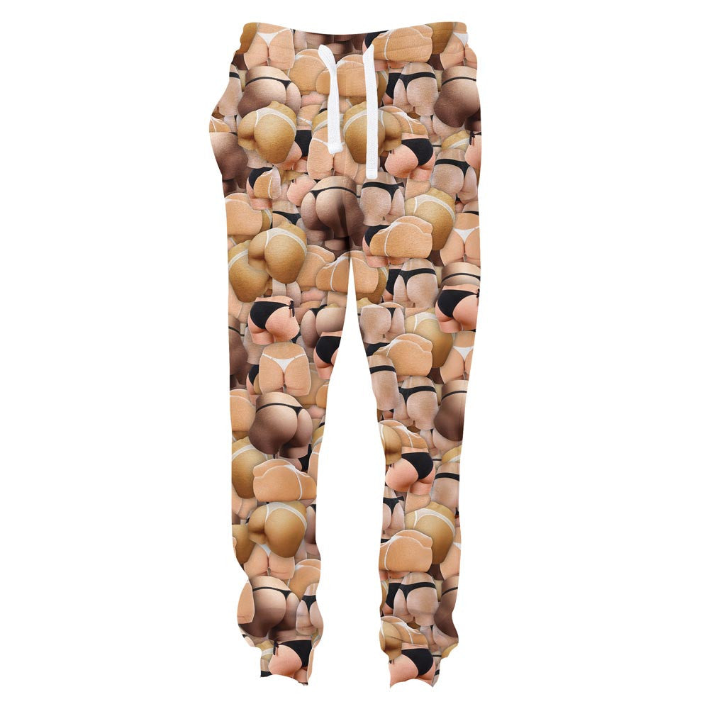 Booty Invasion Joggers-Shelfies-| All-Over-Print Everywhere - Designed to Make You Smile