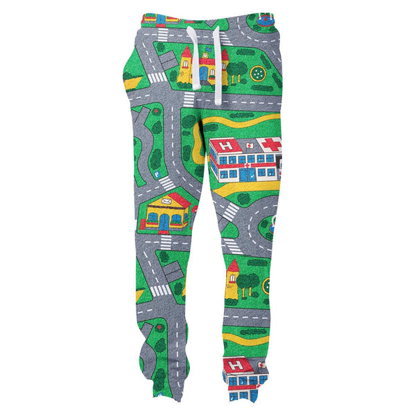 Carpet Track Joggers-Shelfies-| All-Over-Print Everywhere - Designed to Make You Smile