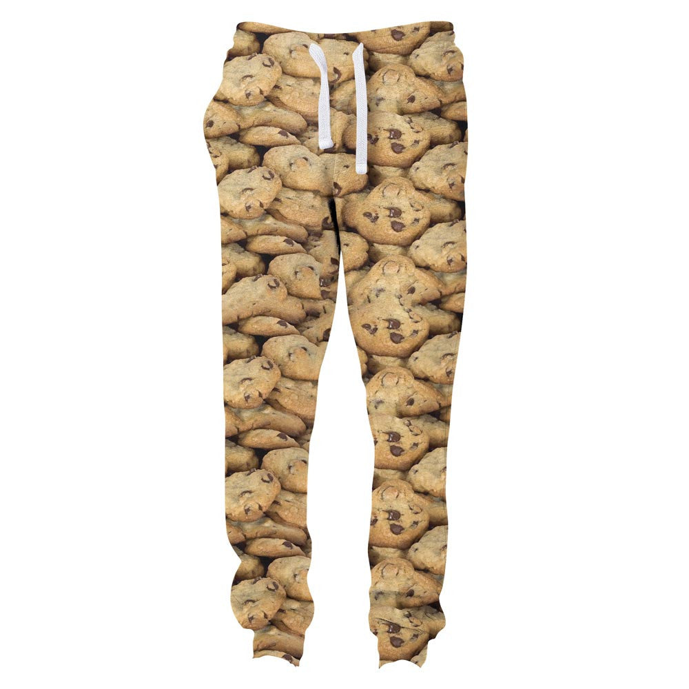 Cookies Invasion Joggers-Shelfies-| All-Over-Print Everywhere - Designed to Make You Smile