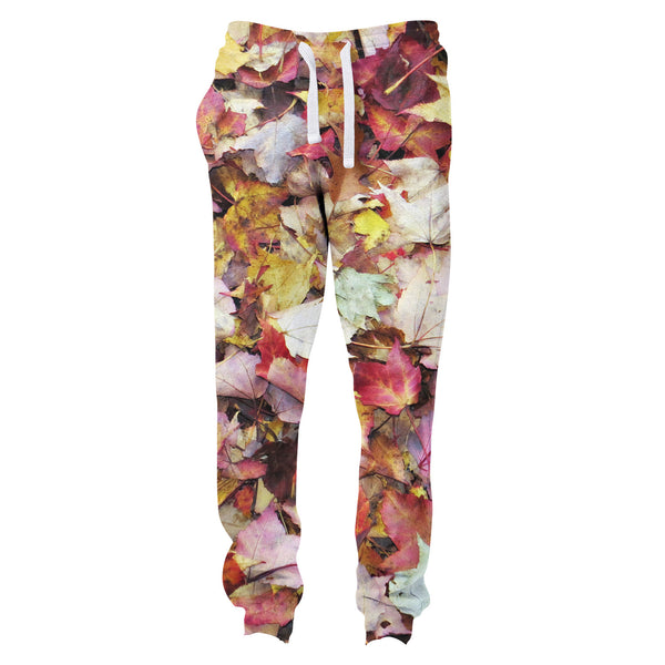 Fall Leaves Joggers-Shelfies-| All-Over-Print Everywhere - Designed to Make You Smile