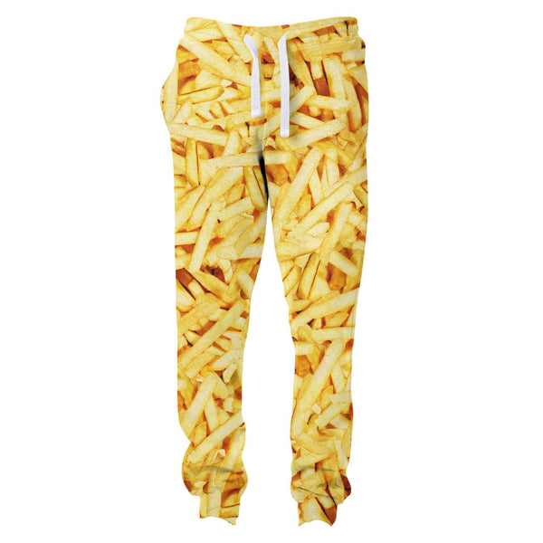French Fries Invasion Joggers-Shelfies-| All-Over-Print Everywhere - Designed to Make You Smile