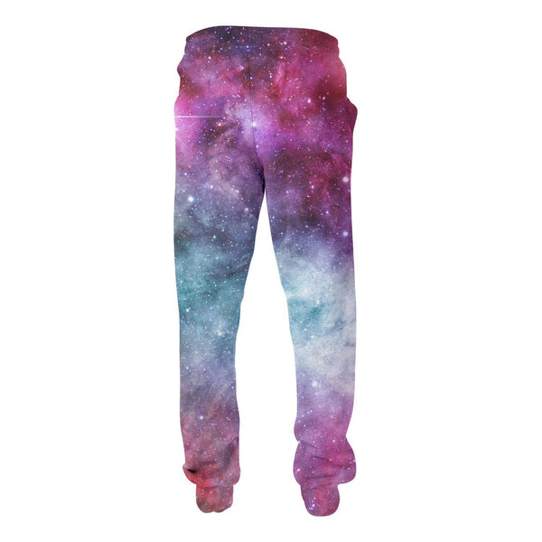Galaxy Love Joggers-Shelfies-| All-Over-Print Everywhere - Designed to Make You Smile