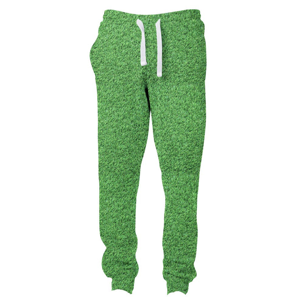 Grass Invasion Joggers-Shelfies-| All-Over-Print Everywhere - Designed to Make You Smile