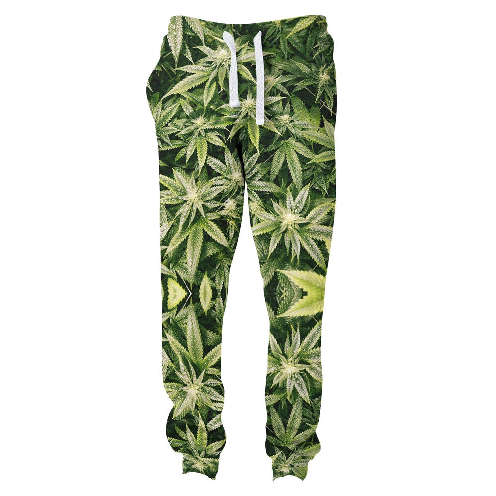 Joggers - Kush Leaves Joggers