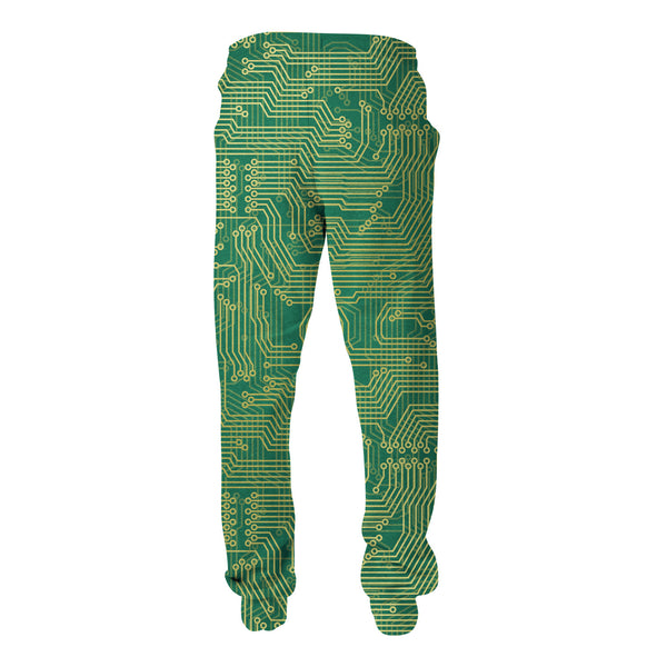 Microchip Joggers-Shelfies-| All-Over-Print Everywhere - Designed to Make You Smile