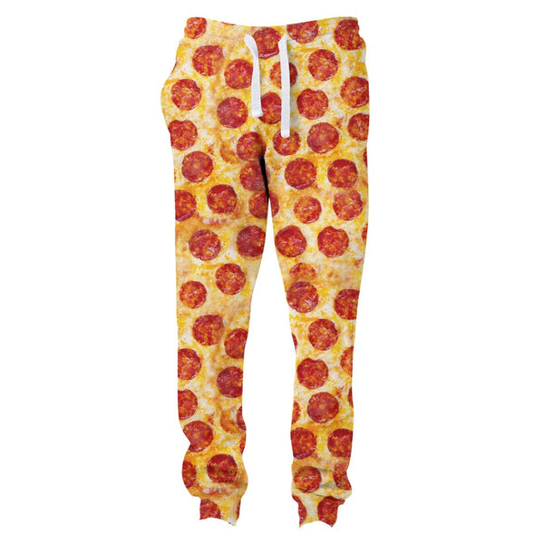 Pizza Invasion Joggers-Shelfies-| All-Over-Print Everywhere - Designed to Make You Smile
