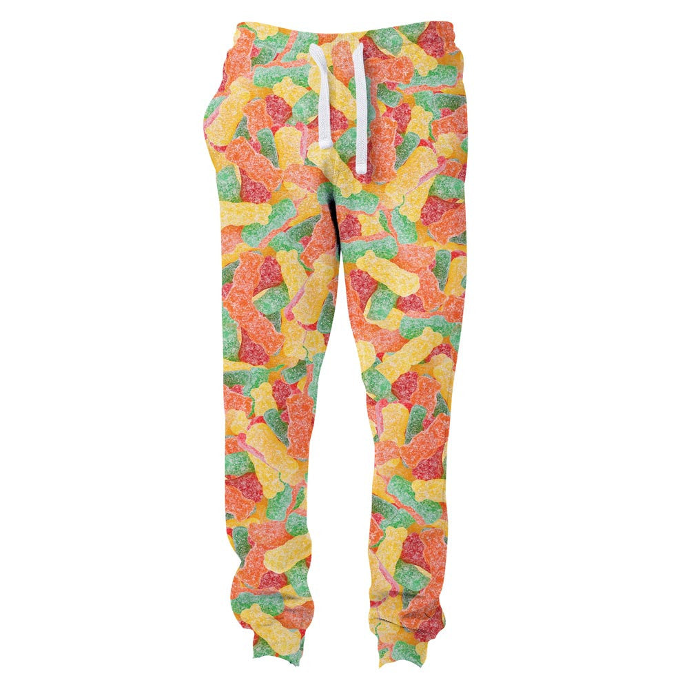 Sour Candies Invasion Joggers-Shelfies-| All-Over-Print Everywhere - Designed to Make You Smile