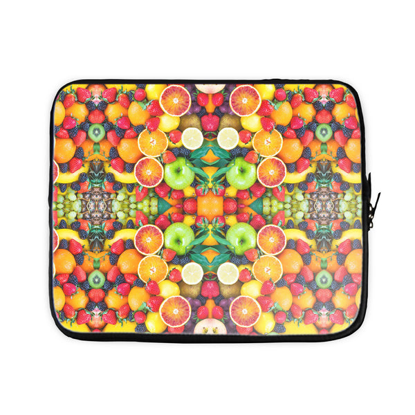 Fruit Explosion Laptop Sleeve-Gooten-15 inch-| All-Over-Print Everywhere - Designed to Make You Smile