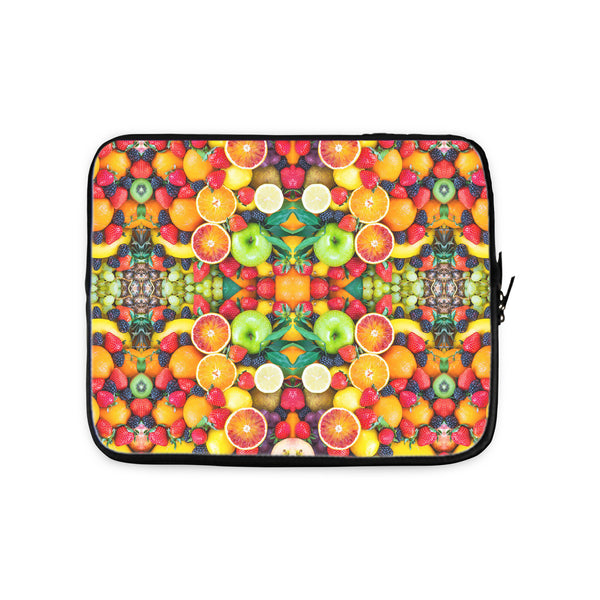 Fruit Explosion Laptop Sleeve-Gooten-10 inch-| All-Over-Print Everywhere - Designed to Make You Smile