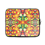 Fruit Explosion Laptop Sleeve-Gooten-17 inch-| All-Over-Print Everywhere - Designed to Make You Smile