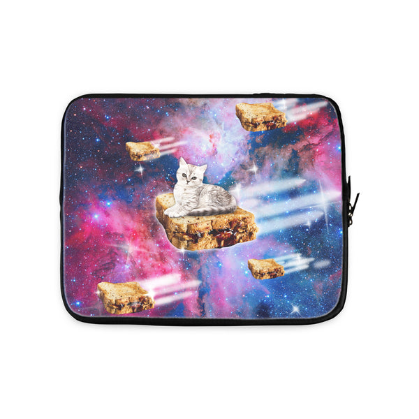 PB&J Galaxy Cat Laptop Sleeve-Gooten-13 inch-| All-Over-Print Everywhere - Designed to Make You Smile