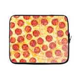 Pizza Invasion Laptop Sleeve-Gooten-15 inch-| All-Over-Print Everywhere - Designed to Make You Smile