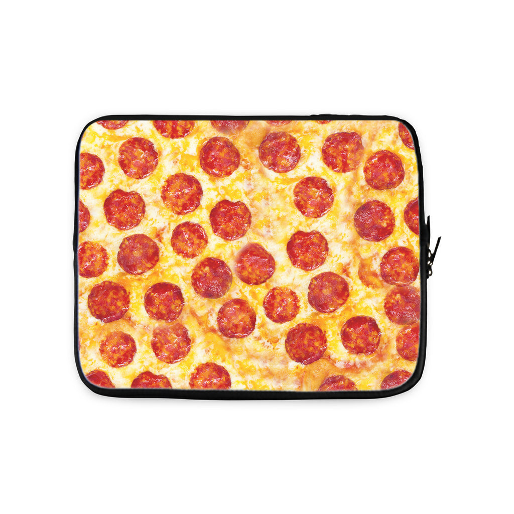 Pizza Invasion Laptop Sleeve-Gooten-10 inch-| All-Over-Print Everywhere - Designed to Make You Smile