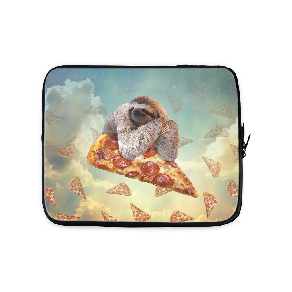 Sloth Pizza Laptop Sleeve-Gooten-10 inch-| All-Over-Print Everywhere - Designed to Make You Smile